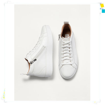 FitFlop フィットフロップ ☆ RALLY Leather High-Top Sneakers