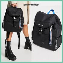 ◆Tommy Hilfiger◆Jeans ロゴ ナイロン リュック バックパック