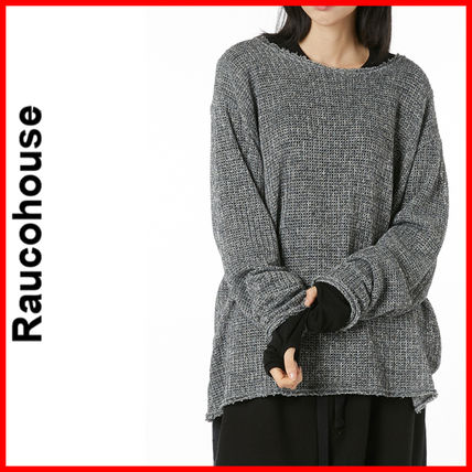 Raucohouse (ラウコハウス)★Rough See Through Layered Knit