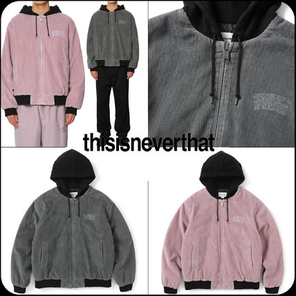 [Thisisneverthat]★韓国人気★Wide Wale Cord Jacket