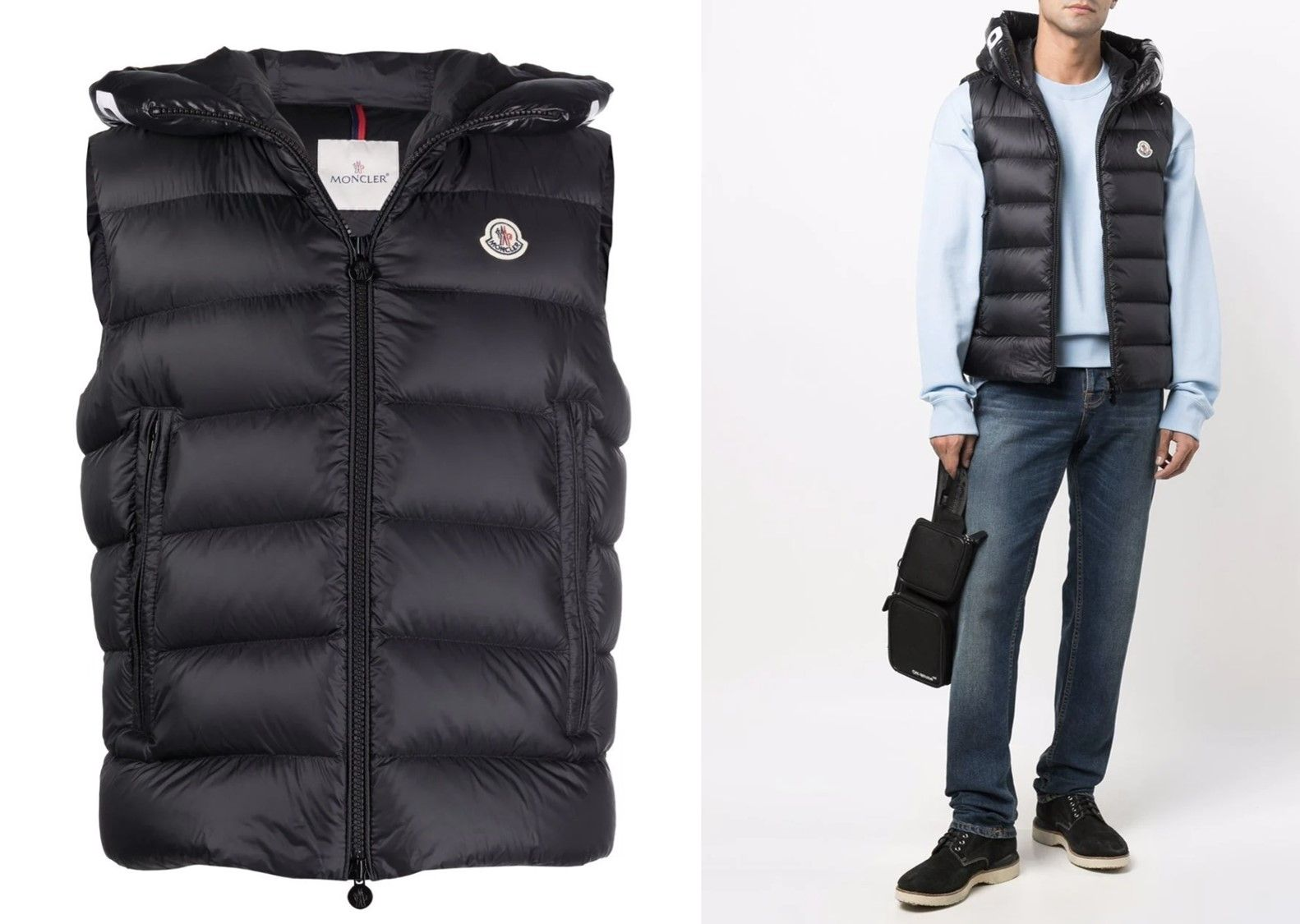 """【MONCLER(モンクレール)】ダウンベスト""""MONTREUIL""""_2"""
